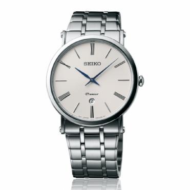 Seiko Gent's Stainless Steel Premier Watch SKP391P1
