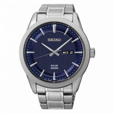 Seiko Gent's Stainless Steel Solar Watch SNE361P1