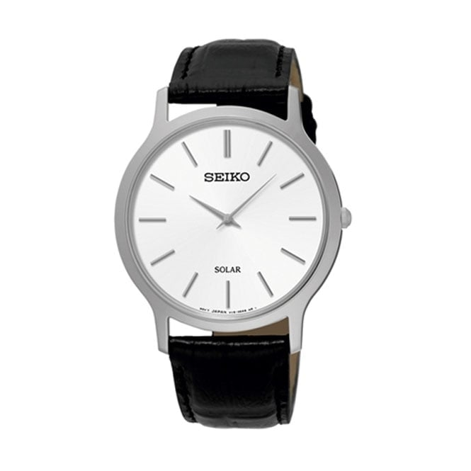 Seiko Gents' Stainless Steel Solar Watch SUP873P1