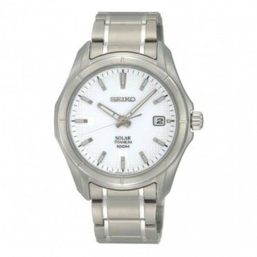 Seiko Gent's Titanium Solar Watch SNE139P1