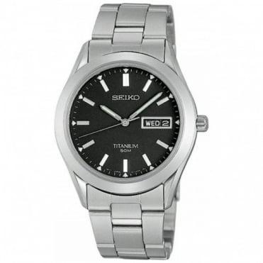Seiko Gent's Titanium Watch SGG599P1