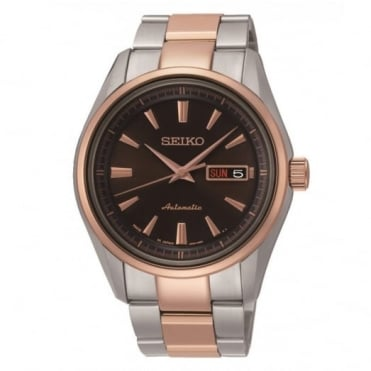 Seiko Gent's Two Tone Automatic Watch SRP536J1