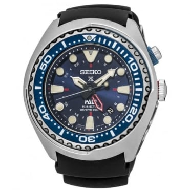 Seiko Prospex PADI Kinetic GMT Diver Watch SUN065P1