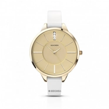 Sekonda Editions Ladies' Gold Plated Watch 4220