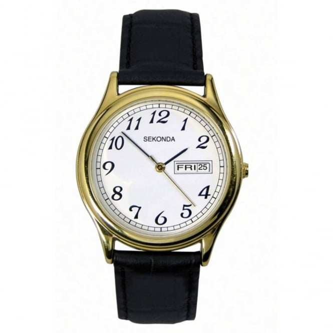 Gent's Leather Strap Watch 3925
