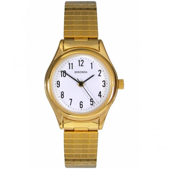 Sekonda Ladies' Gold Plate Expanding Watch 4602
