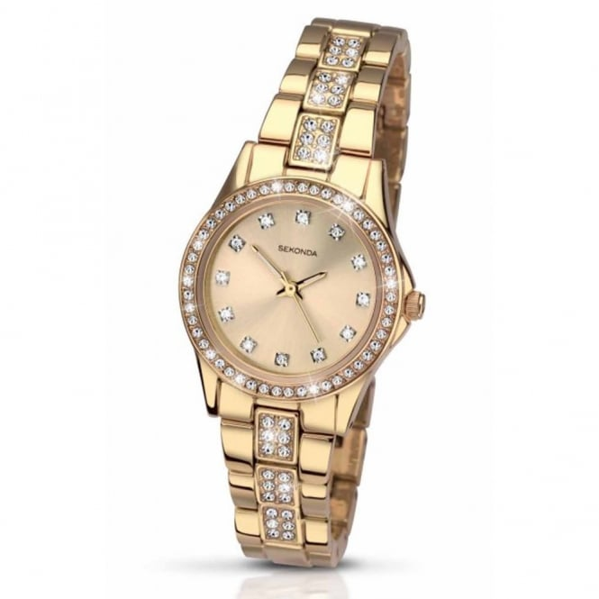 Sekonda Ladies Gold Plate Starfall Watch 2020