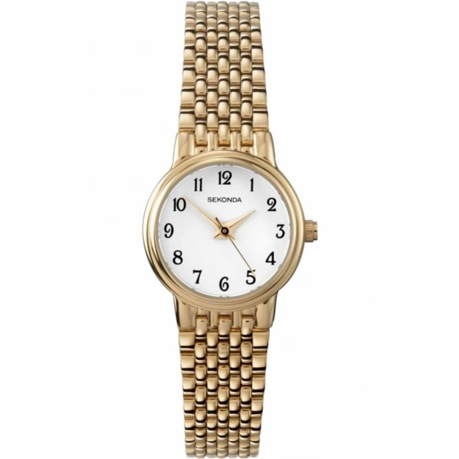Sekonda Ladies' Gold Plate Watch 4090