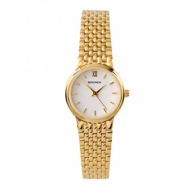 Ladies' Gold Plate Watch 4849