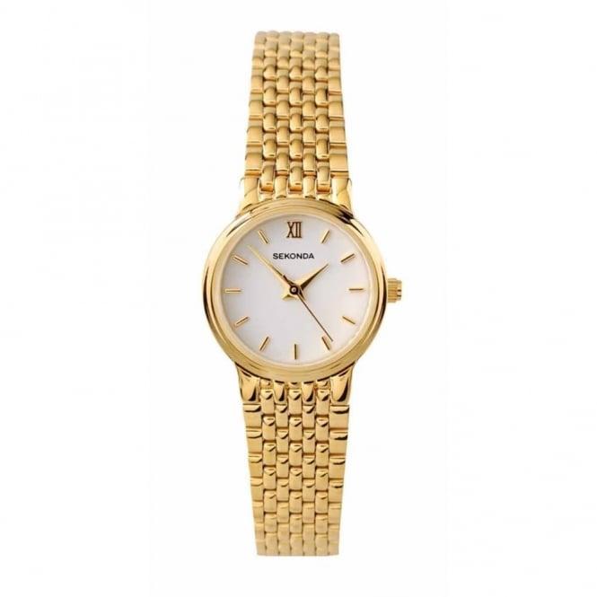Sekonda Ladies' Gold Plate Watch 4849