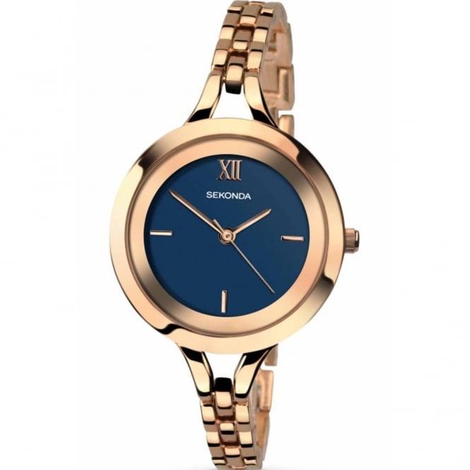 Sekonda Ladies' Rose Plate Watch 2243