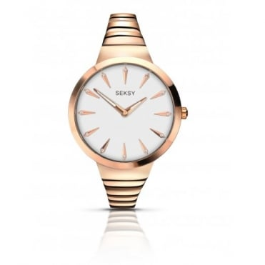 Seksy By Sekonda Ladie Gold Plate Radiance Watch 2217