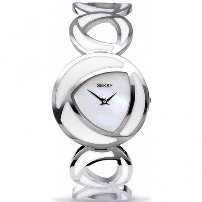 Seksy By Sekonda Ladies' Eclipsed White Watch 4531