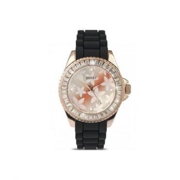 Seksy By Sekonda Rose Plate Watch 4561