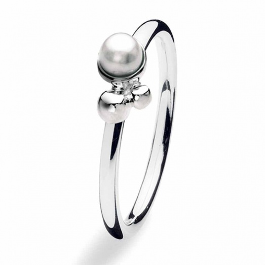 Spinning Jewelry Silver Ballet Ring 166-02