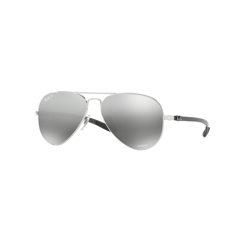 4553d50b69 Silver Chromance Sunglasses RB8317CH 003 5J 58 - Mens from Hillier ...