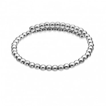 Emozioni Silver Plate Wrap Bangle DC150