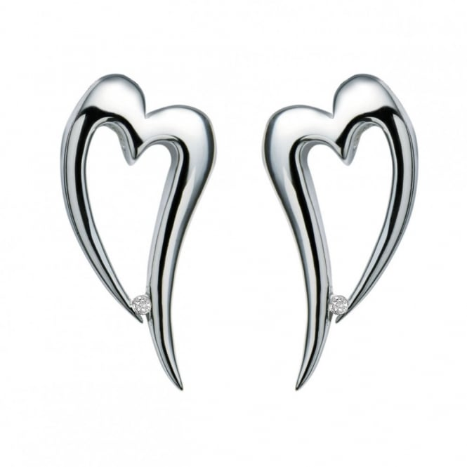 Silver Remember Me Earrings DE100