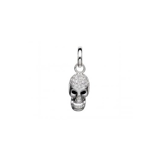 Story by Kranz and Ziegler Silver Skull Charm 4208959