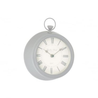 Soft Grey Wall Clock 06442