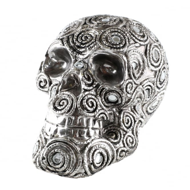 Spiral Reflection Skull D3057H7