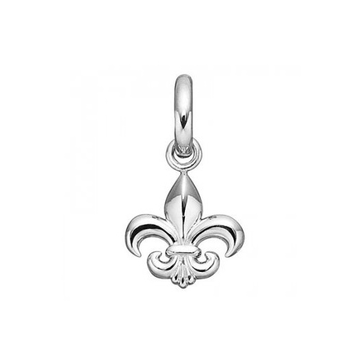 Silver French Lily Charm 4008958