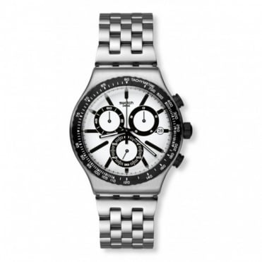 Swatch Destination Rotterdam Chronograph Watch YVS416G