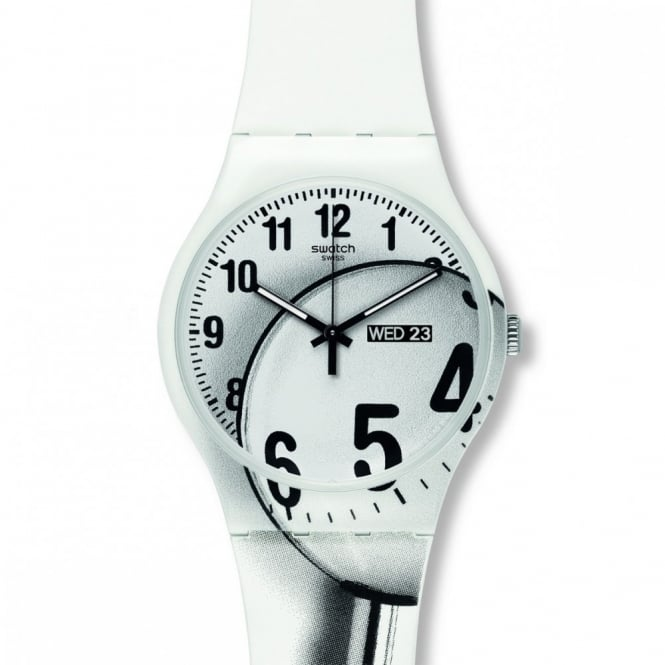 Swatch Gent's Enlarge Time Watch SUOW704