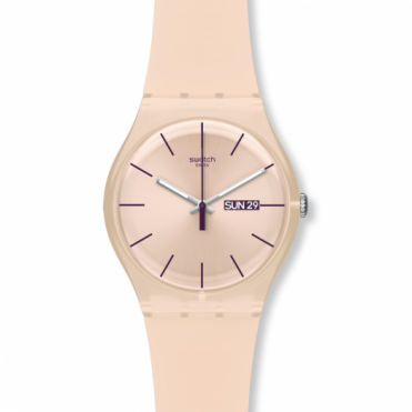 Swatch Ladies Rose Rebel Watch SUOT700