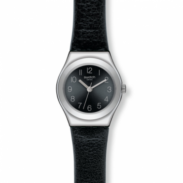 Swatch Ladies Smoothly Black Watch YSS268