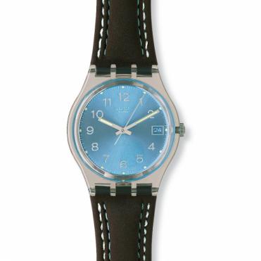 Swatch Unisex Blue Choco Watch GM415