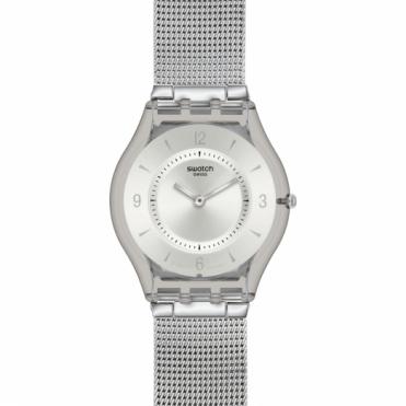 Swatch Unisex Knit Watch SFM118M