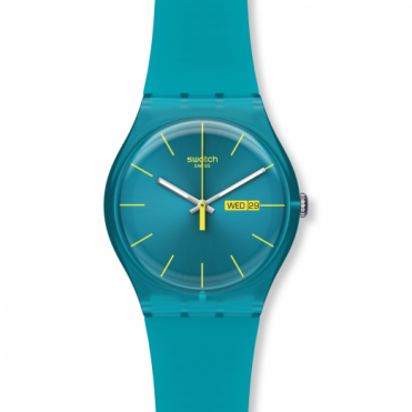 Swatch Unisex Turquoise Rebel Watch SUOL700