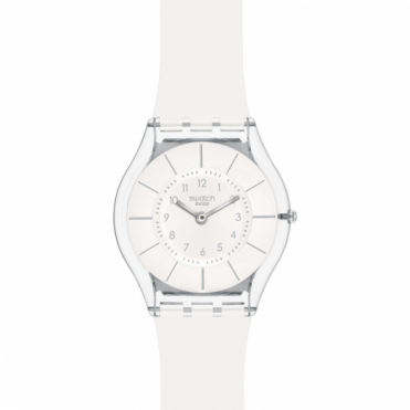 Swatch Unisex White Classiness Watch SFK360