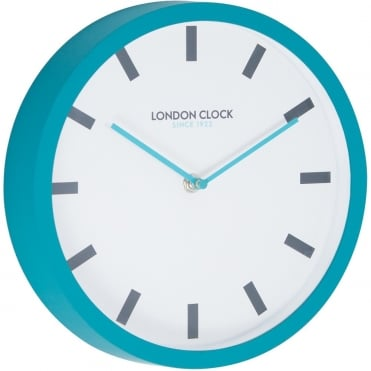 Teal Wall Clock 24404