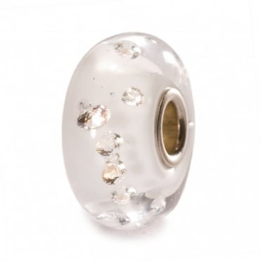 Trollbeads The Diamond Bead, White 81001