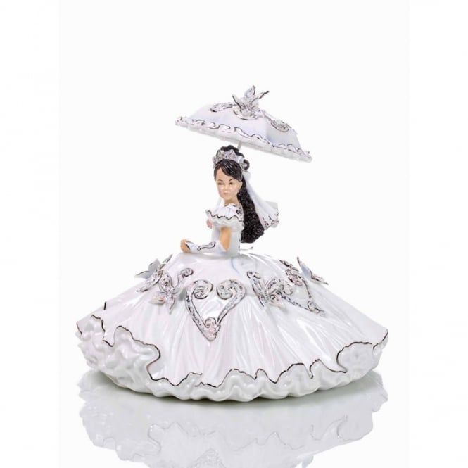 My Gypsy Princess First Communion Brunette Figurine ELGETH05202