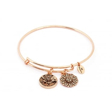 Thinking Of You Best Friend Rose Gold Plated Bangle CRBT0717RG