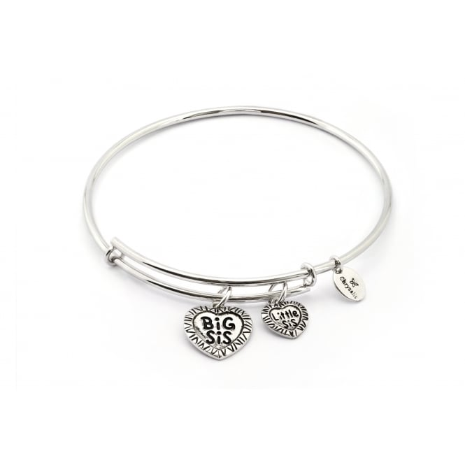 Thinking Of You Big Sis Little Sis Bangle CRBT0725SP