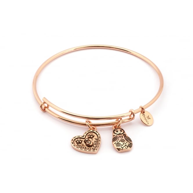 Thinking Of You Mother's Love Rose Gold Plated Bangle CRBT0719RG