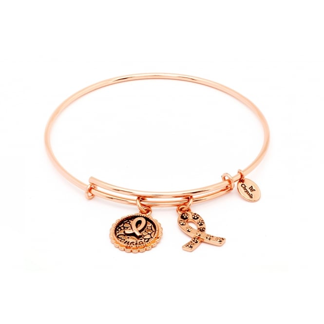 Thinking Of You Special Cousin Rose Gold Plated Bangle CRBT0707RG