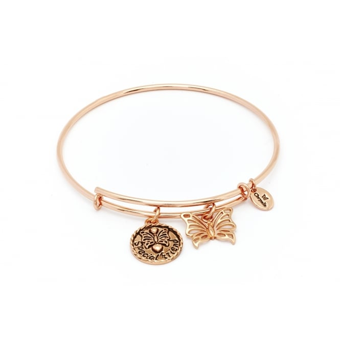 Thinking Of You Special Friend Rose Gold Plated Bangle CRBT0703RG