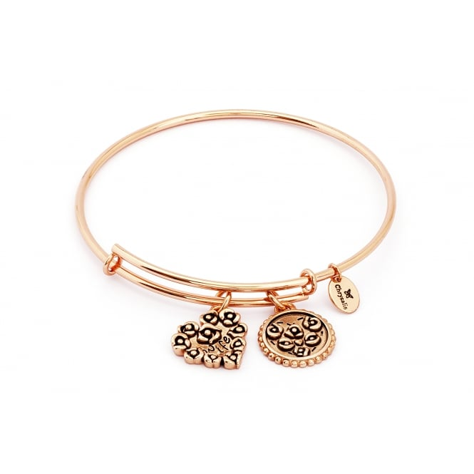 Thinking Of You Wife Rose Gold Plated Bangle CRBT0720RG