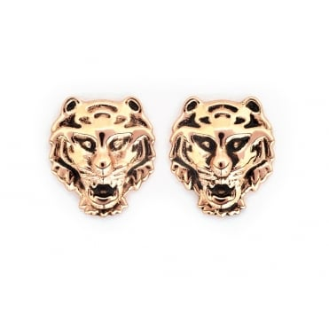 Tiger Gold Plated Earrings CRET0406AR