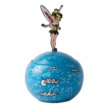 Disney Britto Tinker Bell Lidded Box 4019377
