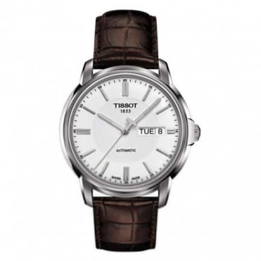 Tissot Gents S/Steel Automatic III Watch T0654301603100