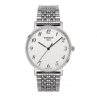 Gent's S/Steel Everytime Watch T1094101103200