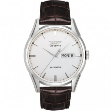 Gents S/Steel Heritage Visodate Automatic Watch T0194301603101