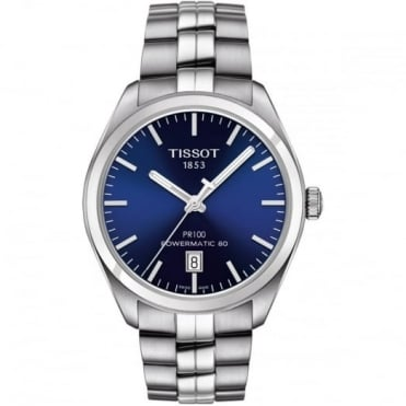 Tissot Gent's S/Steel PR100 Powermatic 80 Watch T1014071104100