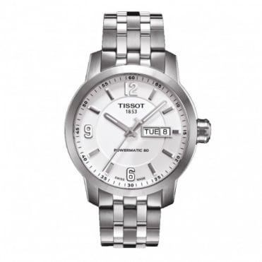 Tissot Gents S/Steel PRC 200 P80 Watch T0554301101700